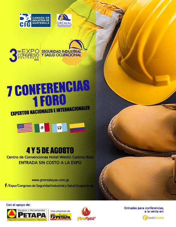 Expertos Nacionales e Internacionales / 3er. ExpoCongreso de Seguridad Industrial y Salud Ocupacional
